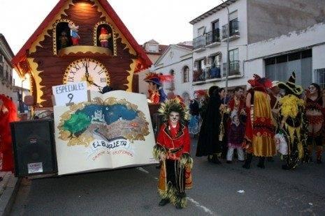 """El burleta carnaval de herencia 465x310 - Cerca de """"15.000"""" personas en el Desfile del Ofertorio 2013"""