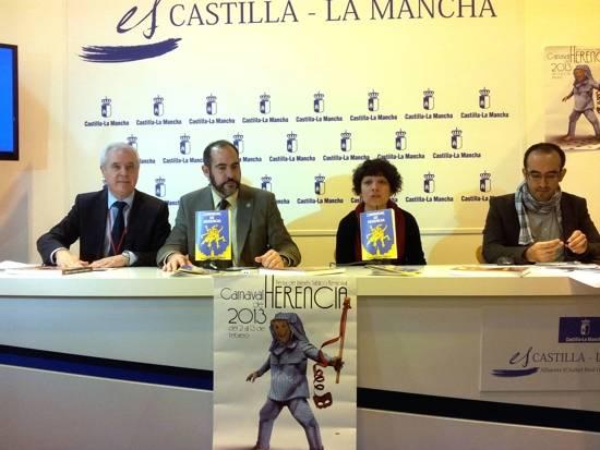 Presentación Carnaval de Herencia en FITUR 2013