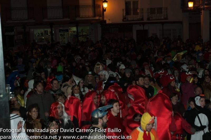 Sábado de los Ansiosos - Fotogalería del Sábado de los Ansiosos del Carnaval de Herencia 2013