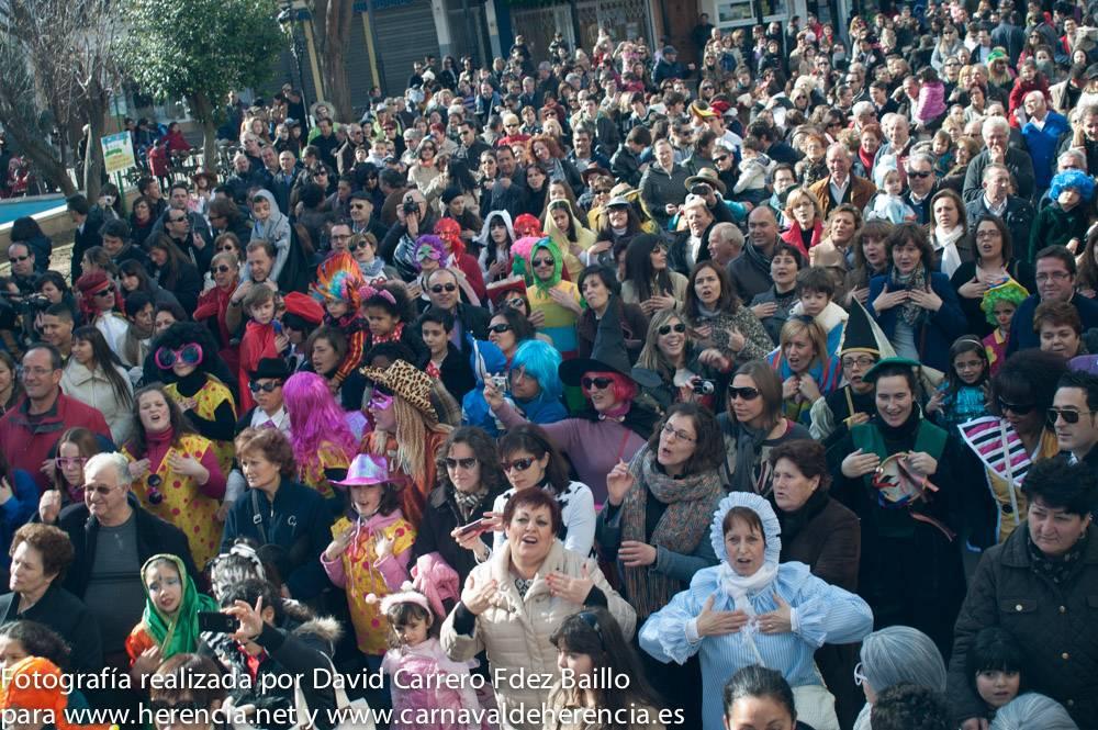 Fotogalería del Flashmob del Carnaval 2013 1
