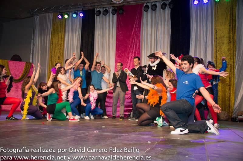 Fotogalería de la Inauguración del Carnaval de Herencia 2013 1