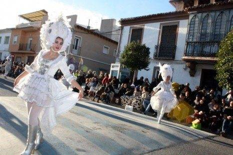 villarta impresionante con su barrock carnaval de herencia