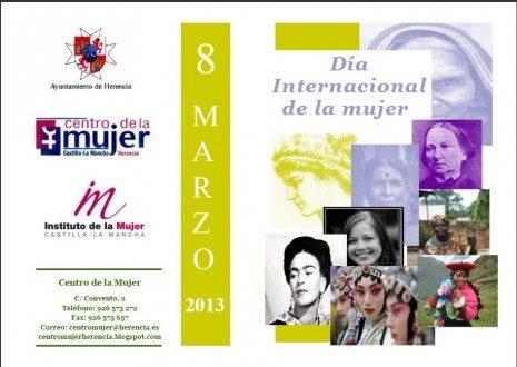 Cartel Día Internacional de la Mujer en Herencia