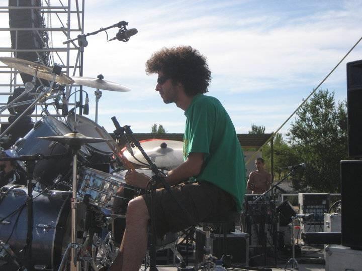 ABRAHAM FOTO - El herenciano Abraham Díaz-Pavón Rodríguez participará, con el grupo de reggae Kilimanjahro, en la Final Ibérica de Reggae