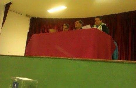 "Asamblea General Pe%C3%B1a Taurina Anillo 2008 465x302 - José Carlos Calero reelegido presidente de la Asociación Cultural Peña Taurina ""Anillo 2008"""