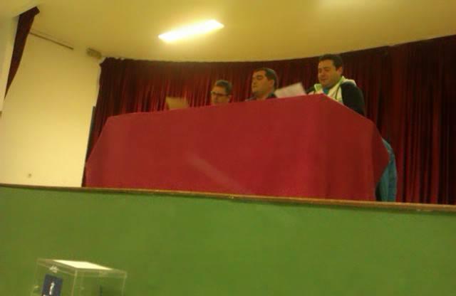 """Asamblea General Peña Taurina Anillo 2008 - José Carlos Calero reelegido presidente de la Asociación Cultural Peña Taurina """"Anillo 2008"""""""