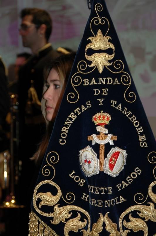 """Banda de Cornetas y Tambores Los Siete Pasos - """"Amargura en tu mirada"""" nueva marcha dedicada a """"Los Moraos"""""""