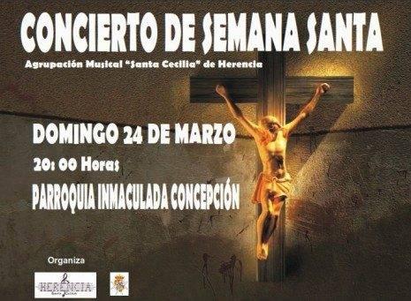 """Concierto de Semana Santa 465x341 - Concierto de Semana Santa de la agrupación musical """"Santa Cecilia"""""""
