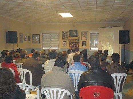 Conferencia sobre la Semana Santa en Sevilla
