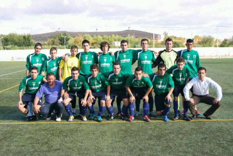 Equipo de Fútbol Juvenil de Herencia - Valdepeñas no fue rival para el equipo juvenil de fútbol de Herencia