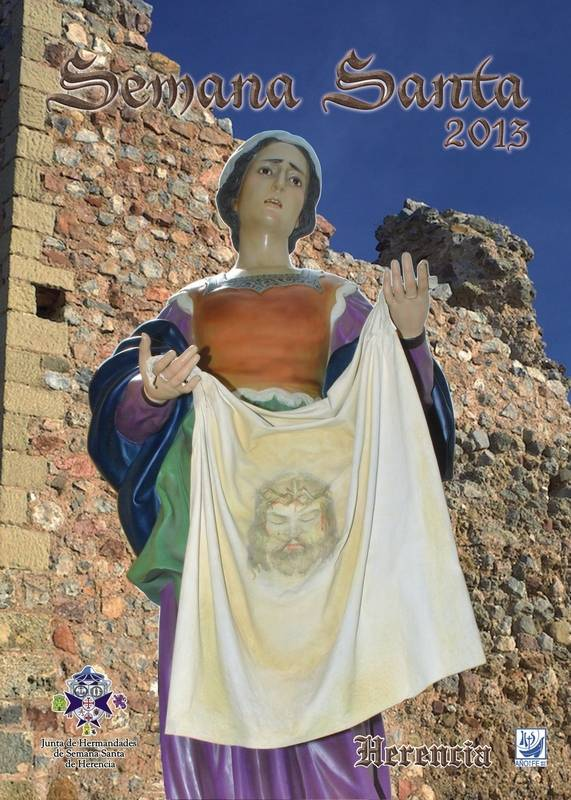 Herencia cartel oficial semana santa 2013 - Novedades para la Semana Santa de Herencia 2013