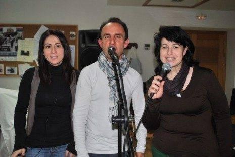 Herencia Mercedes Callejas Miguel Garc%C3%ADa y Mariavi D%C3%ADaz vocalistas de Cis Adar 1 465x310 - Cis Adar comienza la grabación de su segundo disco