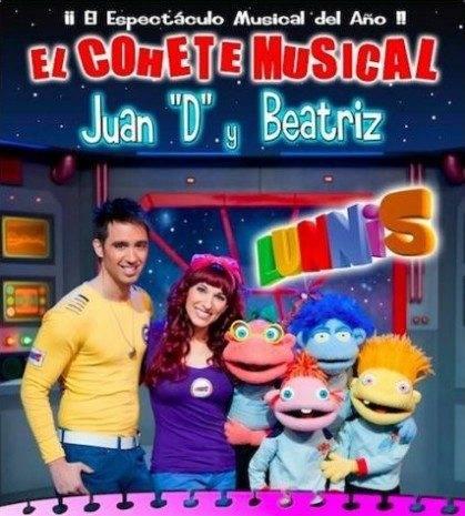 uan D, Beatriz y el Cohete Musical de los Lunnis