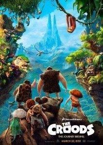 Los Croods Una aventura prehistorica 212x300 - Cinemancha. Programación 22 al 25 de marzo.