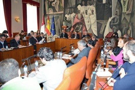 Pleno rodinario de la Diputaci%C3%B3n Provincial de Ciudad Real 465x309 - Diputación se encargará de la recaudación de Comsermancha