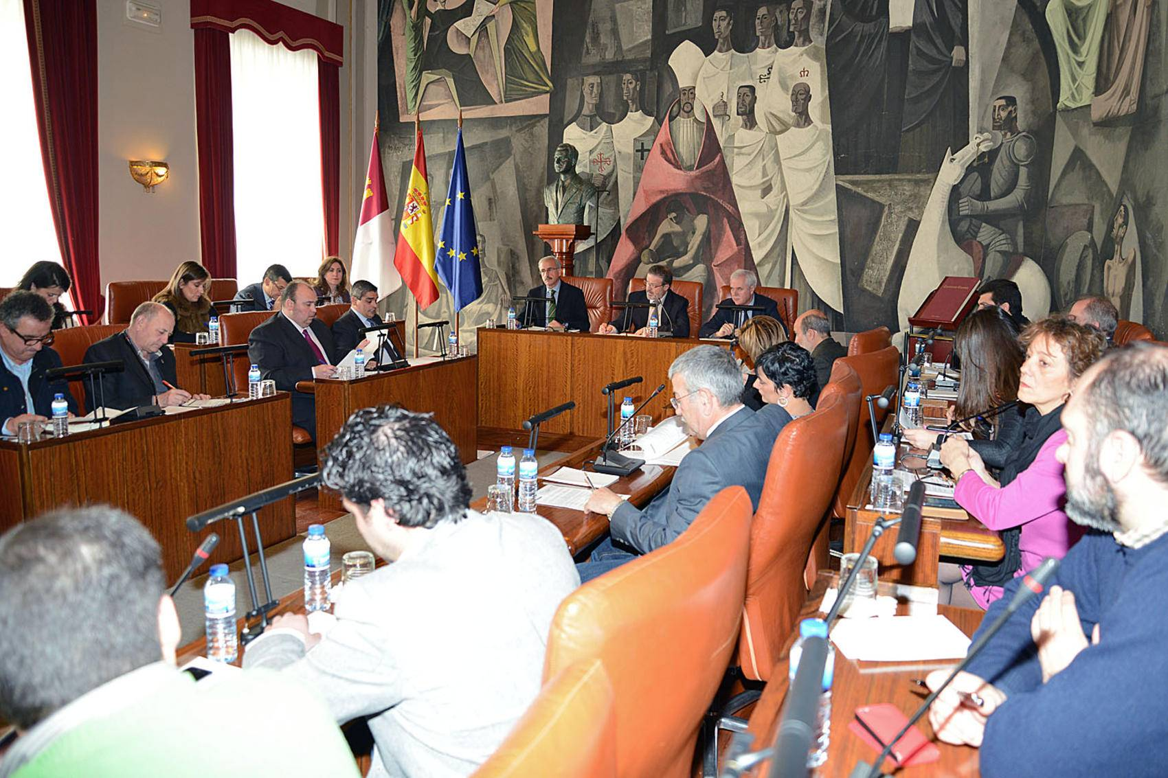 Pleno rodinario de la Diputación Provincial de Ciudad Real - Diputación se encargará de la recaudación de Comsermancha