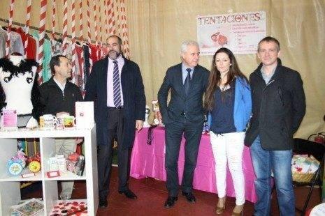5 herencia stand de sex-shop con alcalde de MAdridejos