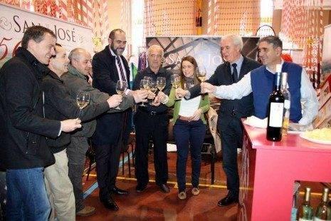 6 herencia en el stand de cooperativa vinicola brindis