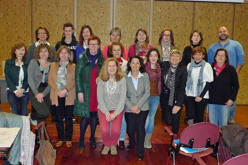 Bibliotecario de la provincia de Ciudad Real realizando un curso de narración oral con Félix Albo