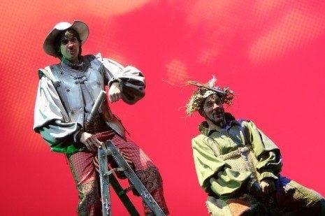 Clown Quijote de la Mancha - Fotografía de Sofía Menéndez