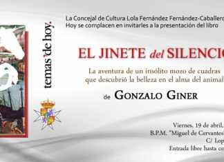 Encuentro con Gonzalo GinerEncuentro con Gonzalo Giner