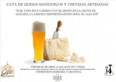 Herencia Cata de quesos manchegos y cervezas artesanas 465x328 - Cata de cervezas artesana y quesos herencianos