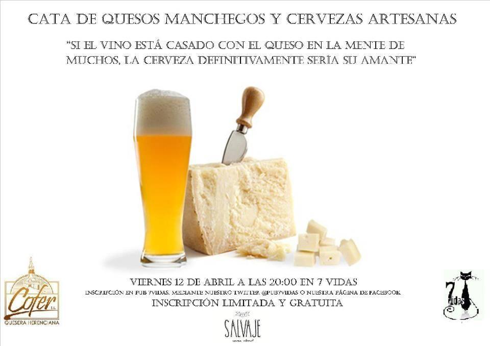 Herencia Cata de quesos manchegos y cervezas artesanas - Cata de cervezas artesana y quesos herencianos