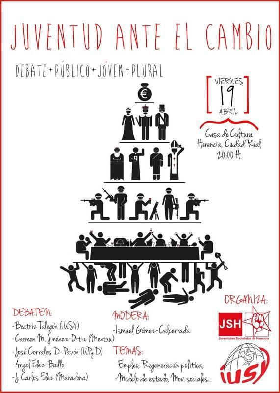 Herencia_Debate juventud y política