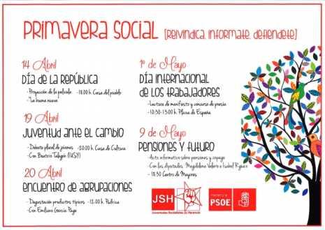Herencia Jornadas juventudes socialistas Primavera Social 465x330 - García-Page, Caballero, Talegón, Isabel Rodríguez o Magdalena Valerio en la 'Primavera Social' de Herencia