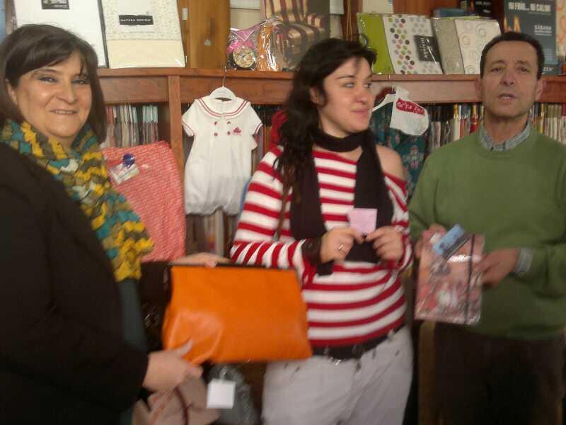 Lorena Gallego Nicasio 2 - Lorena Gallego Nicasio ganadora de la cesta de la Segunda Feria del Comercio de Herencia