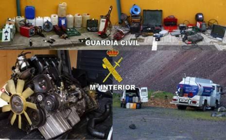 guardiacivil 465x289 - La Guardia Civil desarticula una organización criminal dedicada a robar gasoil
