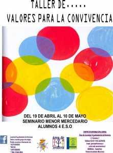 herencia TALLER Valores para la convivencia1 222x300 - Juventud organiza un taller sobre valores para la convivencia en el Seminario Menor Mercedario
