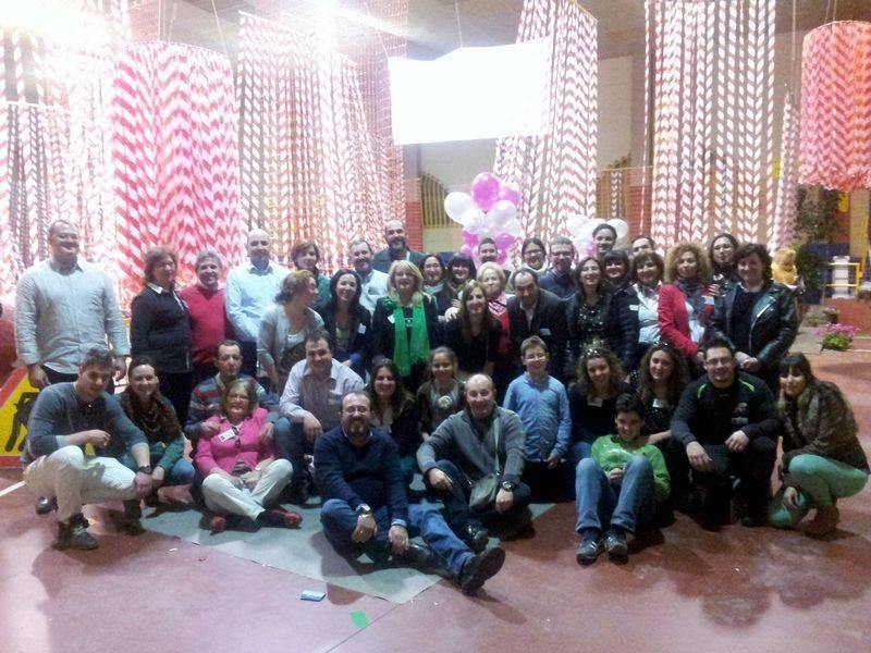 participantes en la II Feria del Comercio de Herencia