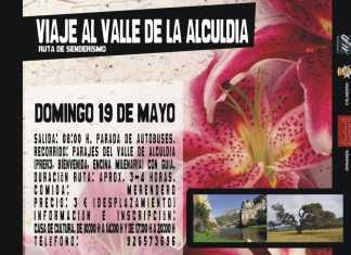 Cartel viaje al Valle de Alcudia