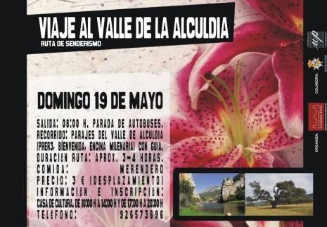 Herencia Cartel Viaje a Alcudia 465x323 - Cultura organiza un viaje al Valle de Alcudía