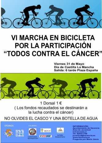 Herencia Marcha en Bicicleta 2013 333x465 - VI Marcha en bicicleta por la Participación y contra el cáncer