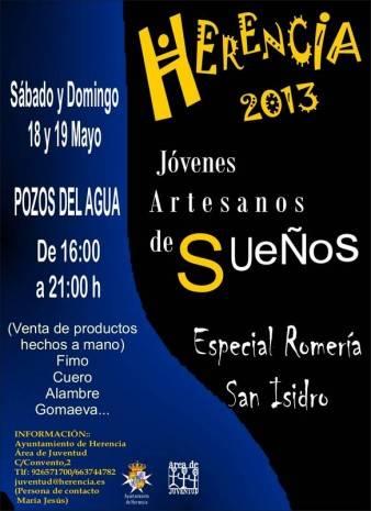 Herencia_Mercadillo Especial Artesanos de sueños_romeria San Isidro