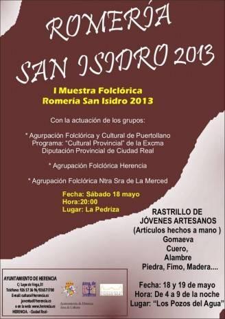 """Muestra folclórica """"Romería San Isidro 2013"""""""