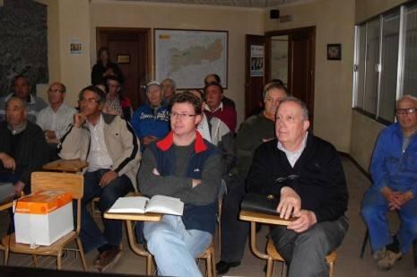 Público asistente a las Jornadas de Optimización del Riego de la Comunidad de Regantes de Herencia