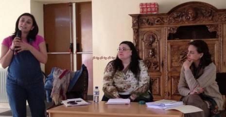 ISABEL RODRIGUEZ EN HERENCIA 465x241 - La diputada nacional Isabel Rodríguez participa de una charla-coloquio en Herencia