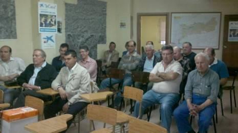 Inauguración Jornadas sobre el Agua en la Comunidad de Regantes de Herencia1