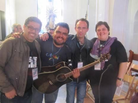 Miguel García-Parrado de Cis Adar durante el Congreso Internacional de Música Católica a