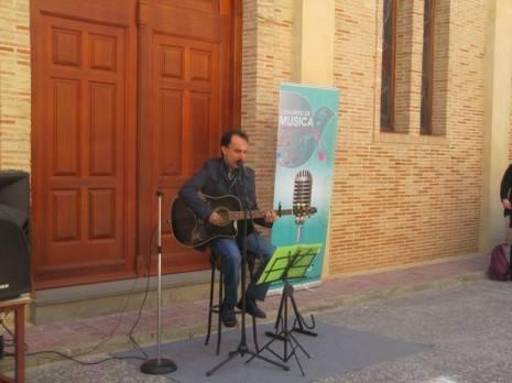 Miguel García-Parrado de Cis Adar durante el Congreso Internacional de Música Católica