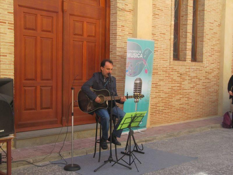 Miguel García Parrado de Cis Adar durante el Congreso Internacional de Música Católica - Miguel García de Cis Adar estuvo en el primer congreso internacional de músicos católicos