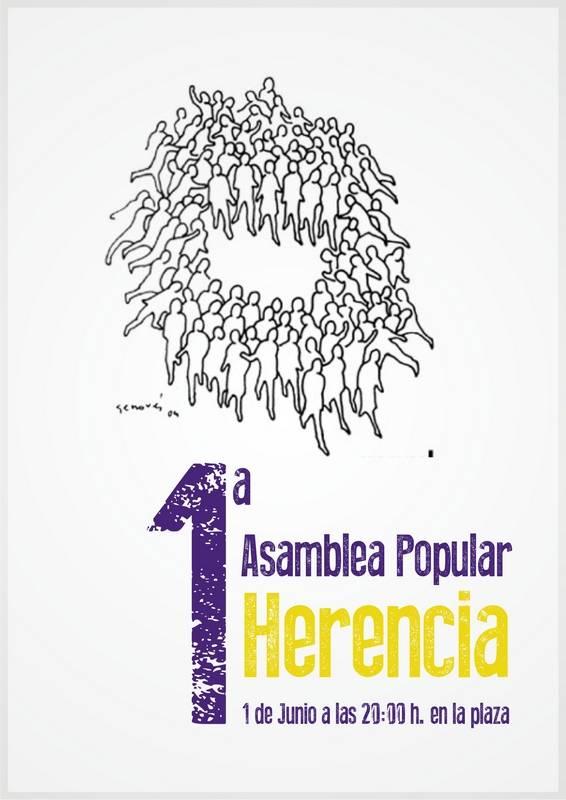 Primera Asamblea Popular de Herencia - Primera asamblea popular de Herencia