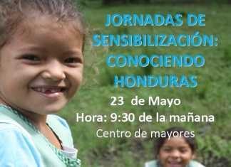 """Cartel de la jornada de sensibilización """"Conociendo Honduras"""" en Herencia"""