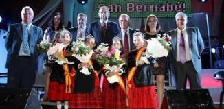 Jesús Fernandez durante el pregón de las ferias de Arenas de San Juan