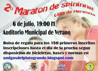 """Segunda concentración de Spinning """"Villa de Herencia"""""""