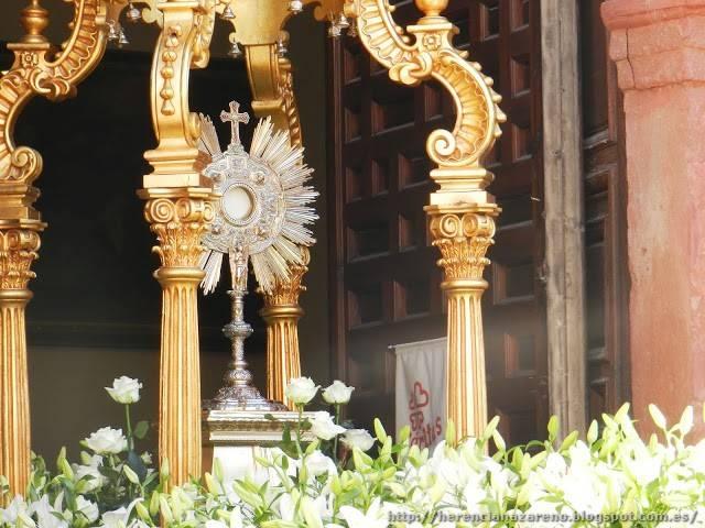 Corpus Christi Herencia 2013 34 - La parroquia ultima todos los detalles para la procesión del Corpus