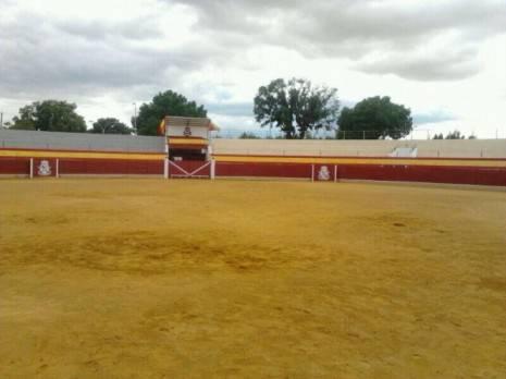 Estado del ruedo justo antes del comienzo del festejo 465x348 - La suspensión de los toros en Herencia, paso a paso